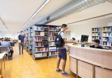 Biblioteca campus ingegneristico
